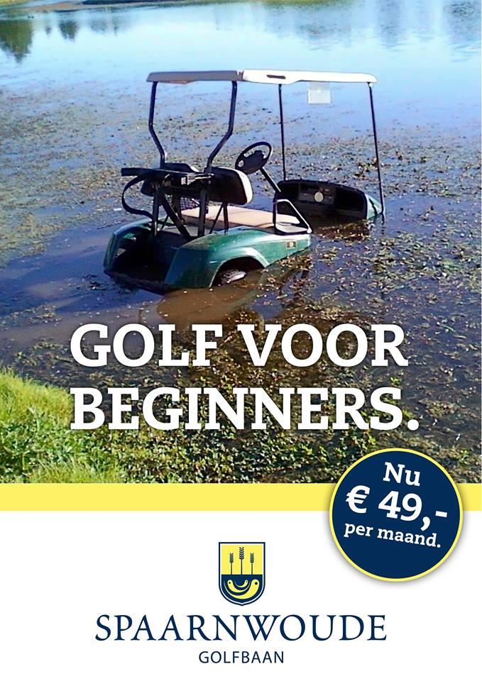 Stopkracht golf